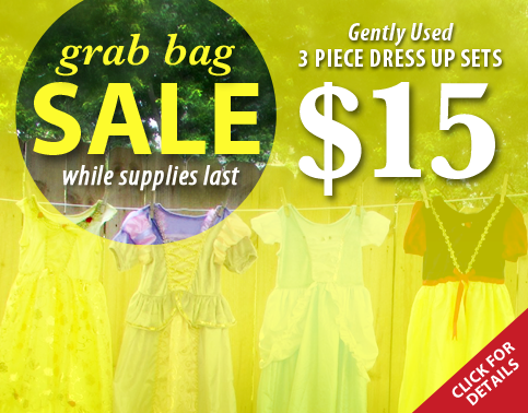 Save by buying a Grab Bag at Little Dress Up Shop