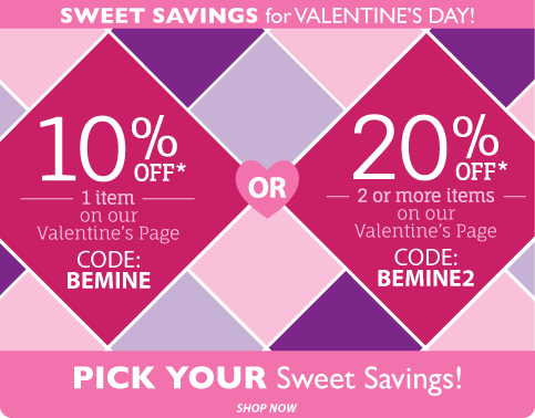 Valentine Deals at Little Dress Up Shop