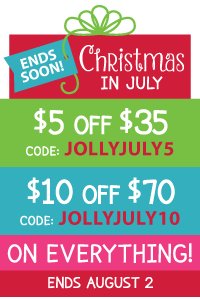 Christmas in July Coupons at LittleDressUpShop.com