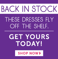 Shop our Back in Stock Items