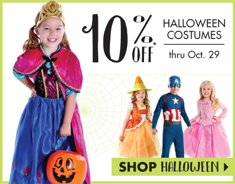 Halloween at Little Dress Up Shop
