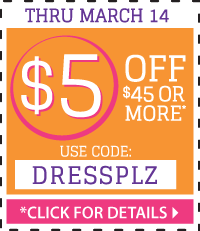 Save $5 On Your Order at LittleDressUpShop.com