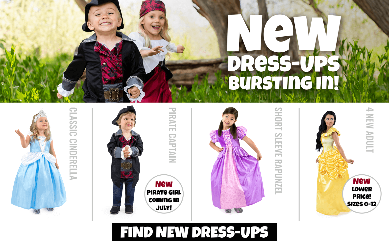 b4f3d0ac43272 Dress Ups and Costumes Current Sales