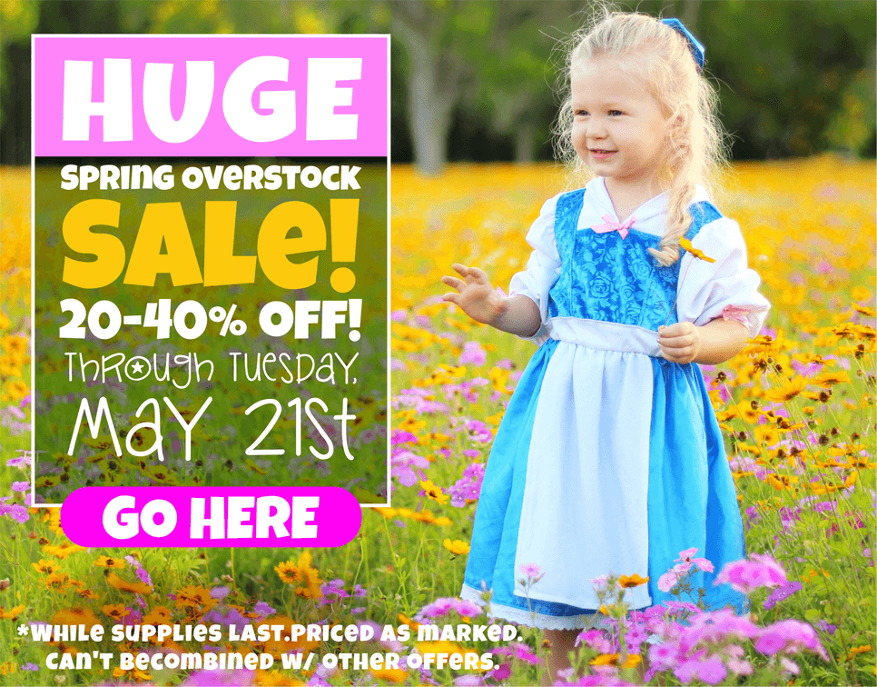 New Sale at Little Dress Up Shop