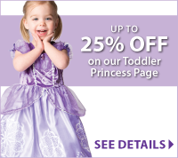 Toddler Princess Dresses Discounts at LittleDressUpShop.com