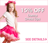 Discounts on Dance Dress Up at LittleDressUpShop.com