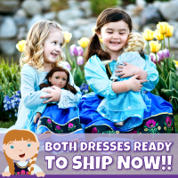 Holiday Specials Frozen Inspired Costumes at LittleDressUpShop.com