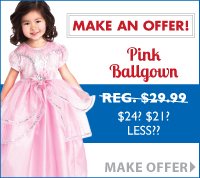 Make an Offer Promotion at LittleDressUpShop.com