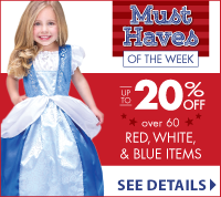 Red White and Blue Celebration at LittleDressUpShop.com