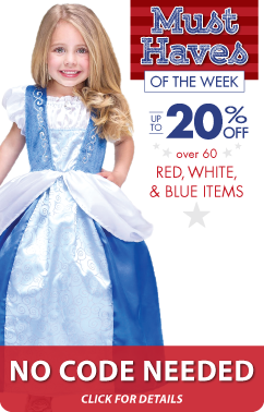 July 4th Dress Up Celebration at LittleDressUpShop