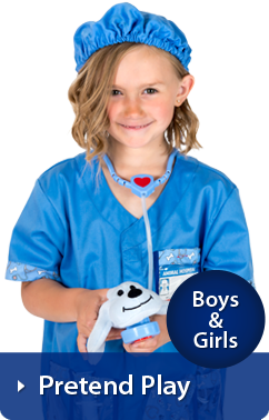 Girls Pretend Play Dress Up Costumes