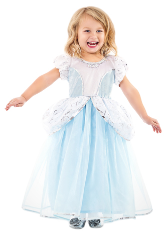 DELUXE Cinderella Dress Up Costume