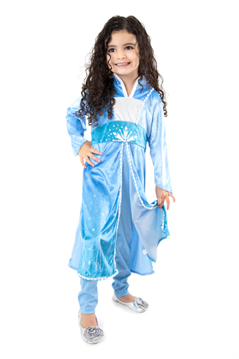 DELUXE Ice Queen Tunic and Pants Set -  *PRE-ORDER ONLY*