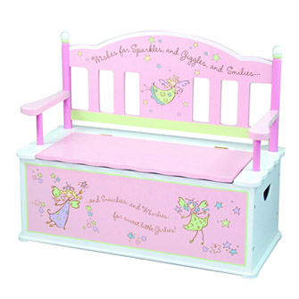 Girls Fairy Wishes Dress Up Storage Chest