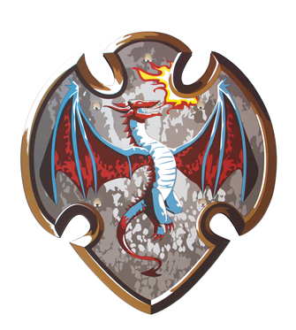 Dragon Slayer Foam Shield