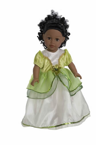 Frog Princess Doll Dress - by Little Adventures