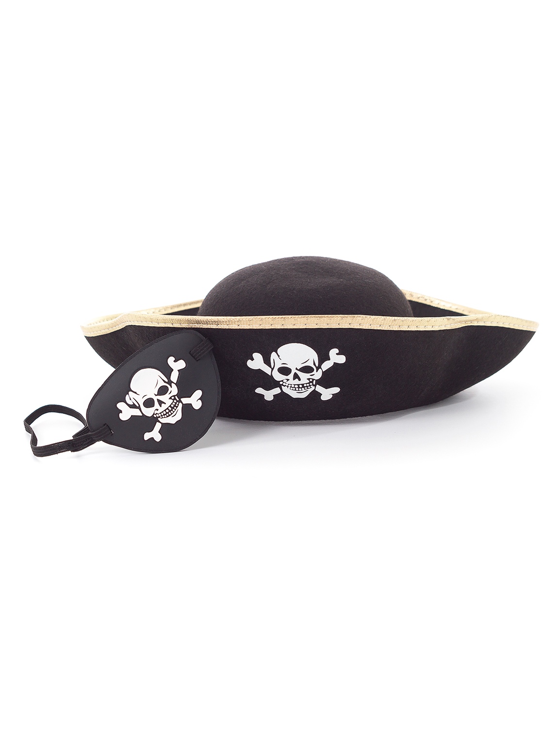 41a4b47cd Boys or Girls Pirate Hat and Eyepatch Accessory Set