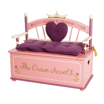 girls princess dress up storage chest princess furniture. Black Bedroom Furniture Sets. Home Design Ideas