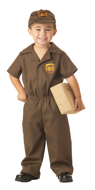 Toddlers UPS Guy Costume