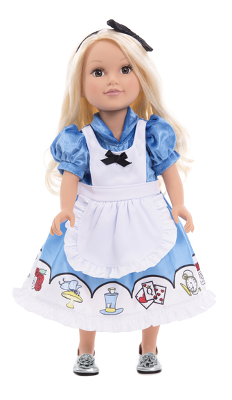 Alice in Wonderland Dress with Headband for Dolls - by Li...