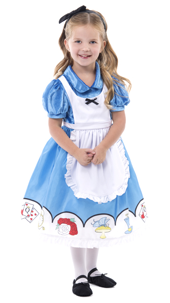 Alice in Wonderland Dress with Headband