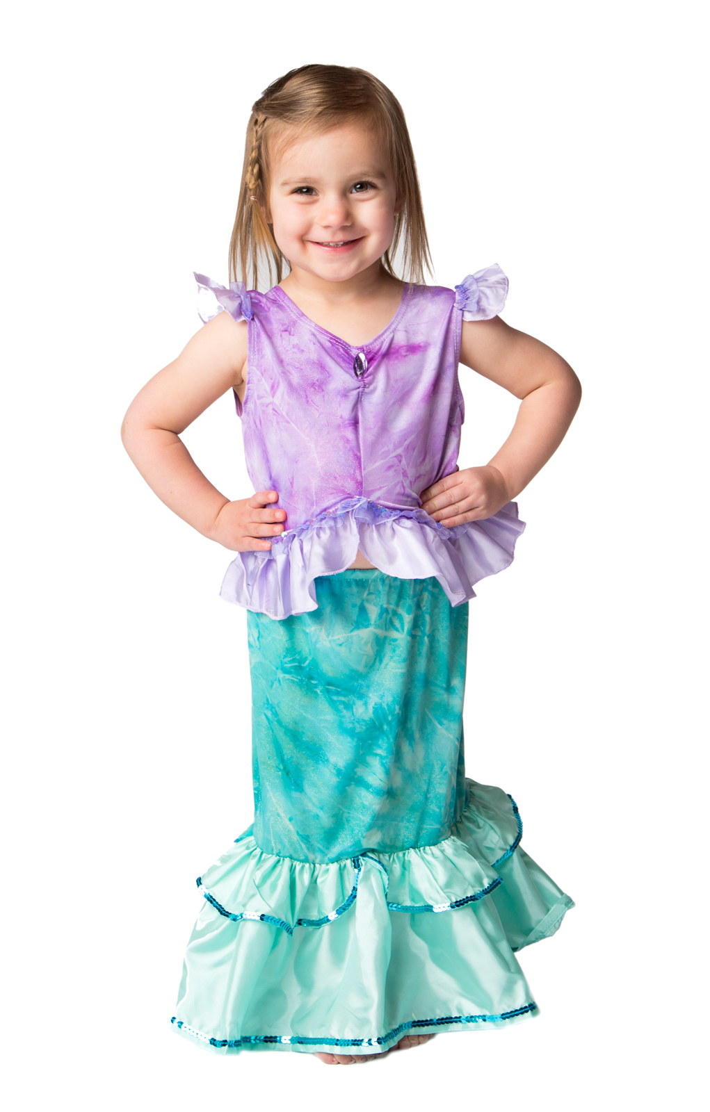 6b5bf7dc4 Toddler Little Mermaid Ariel Replica Dress Up Costume