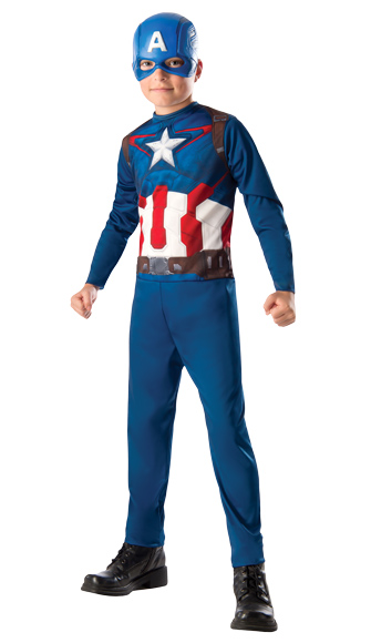 Captain America Costume with Mask