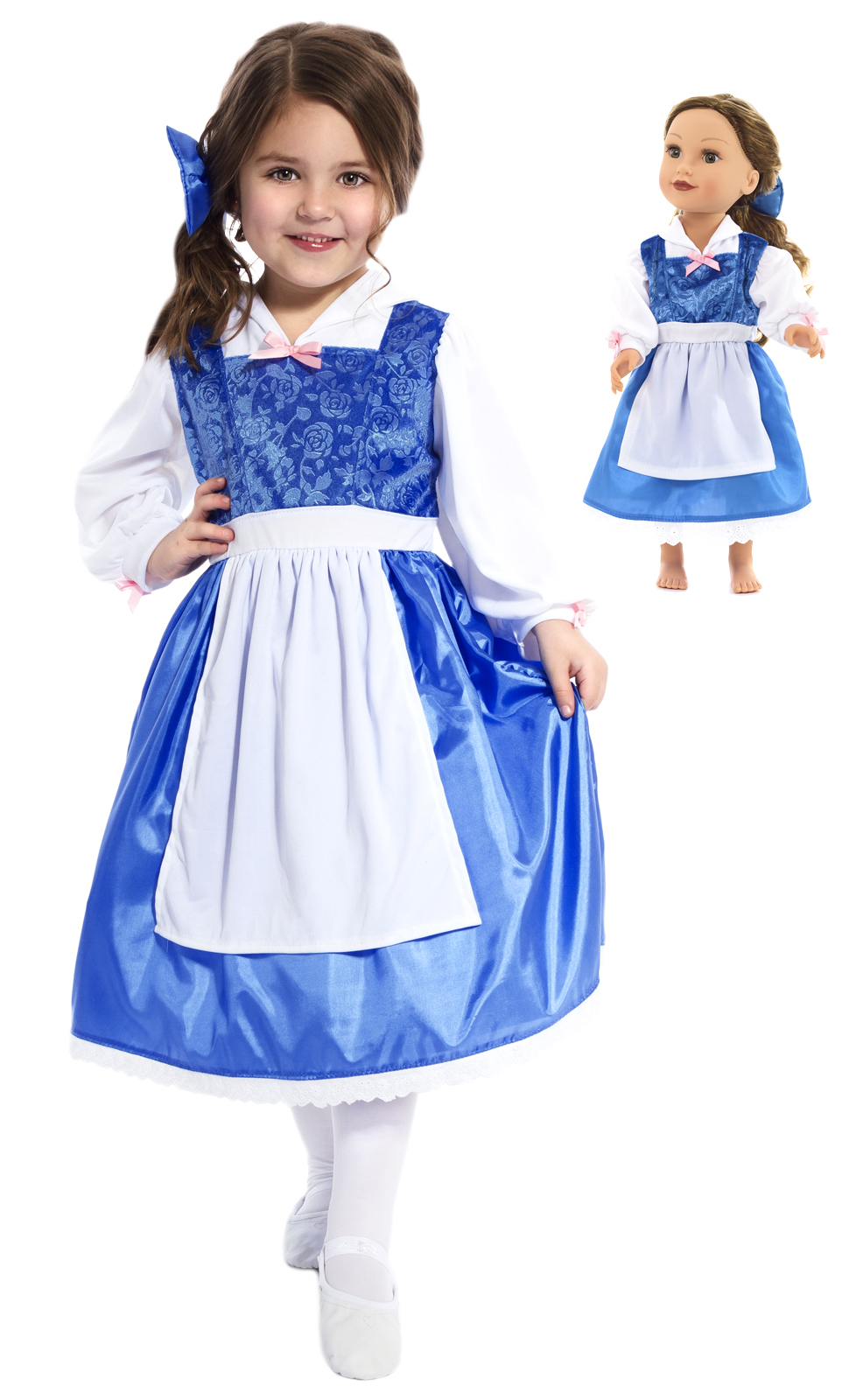 6ae38099e2bd Belle's Blue Matching Dresses