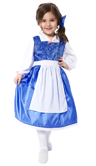 Blue Day Dress for Beauty Belle