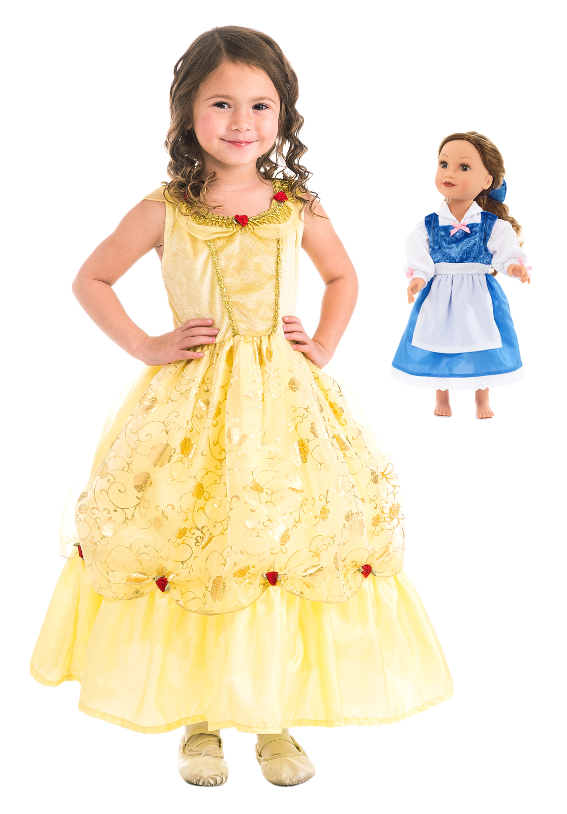 422f74bcc Belle of the Ball Beauty Dress Up Costume for Girls