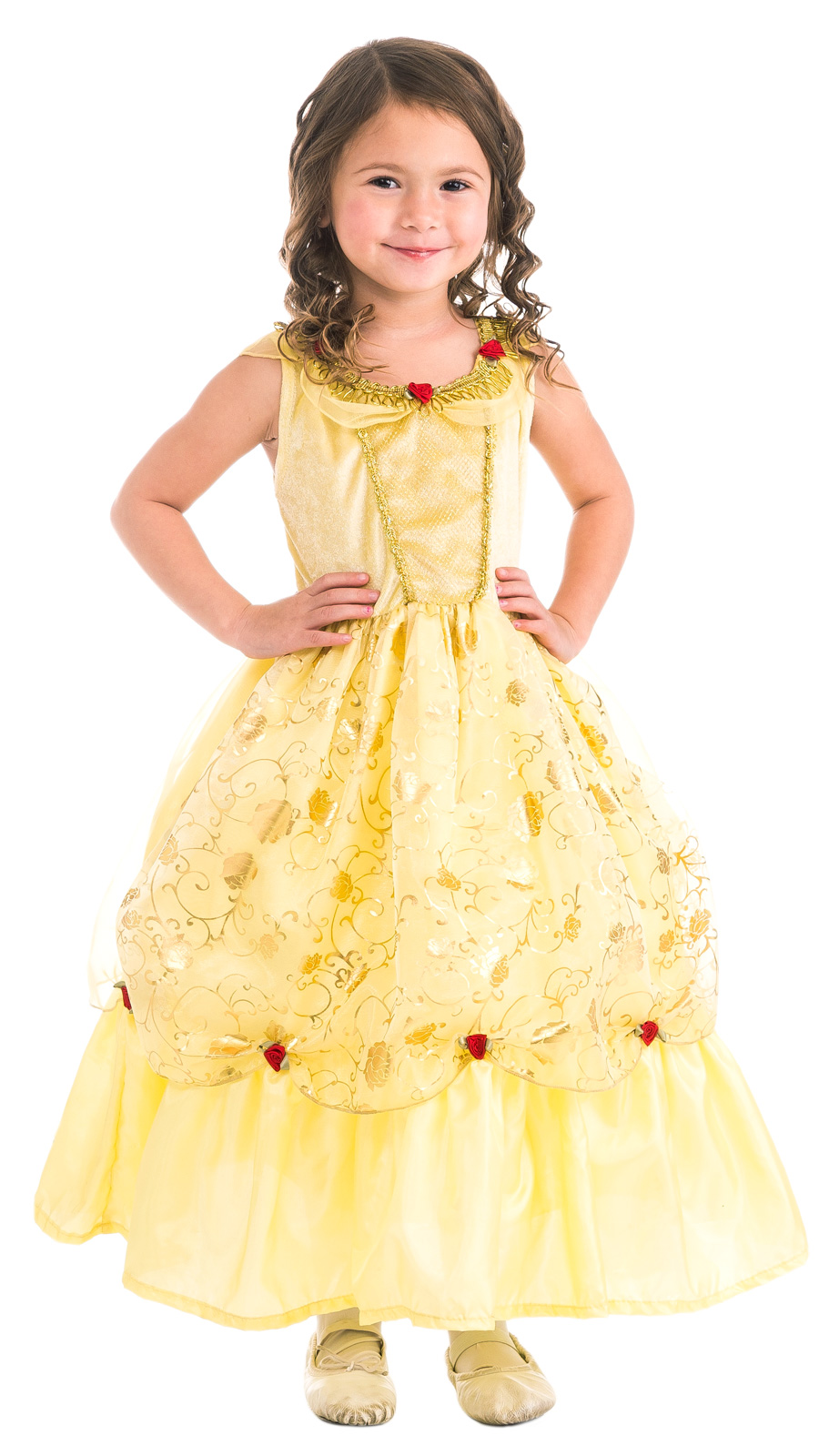 belle of the ball beauty dress up costume for girls