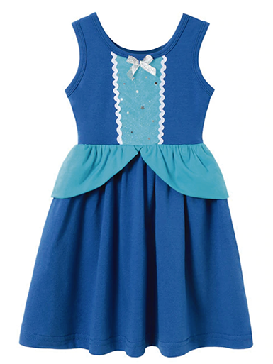 Blue Cinderella Tank Dress