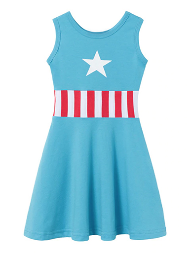 DISCONTINUED Captain America Tank Dress