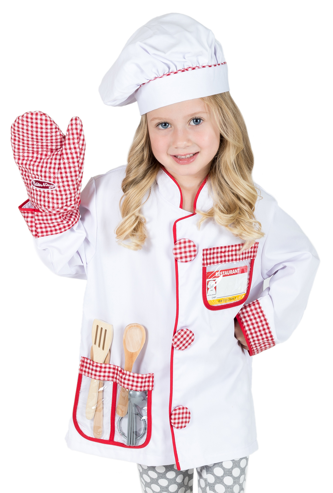 Chef Costume Pretend Play For Boys And Girls