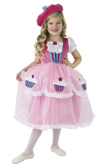 LIMITED EDITION: Cupcake Princess Dress with Hat