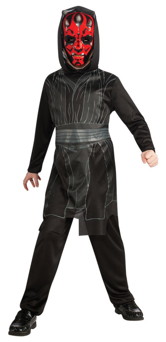 Darth Maul Jumpsuit with Hood and Mask