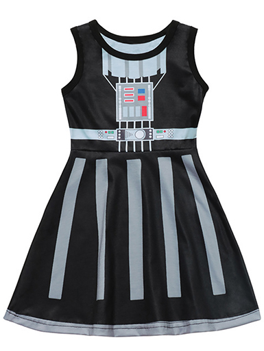 Darth Vadar Tank Style Dress