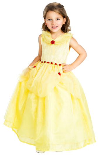 DISCONTINUED - DELUXE Belle of the Ball Beauty Dress Up Costume