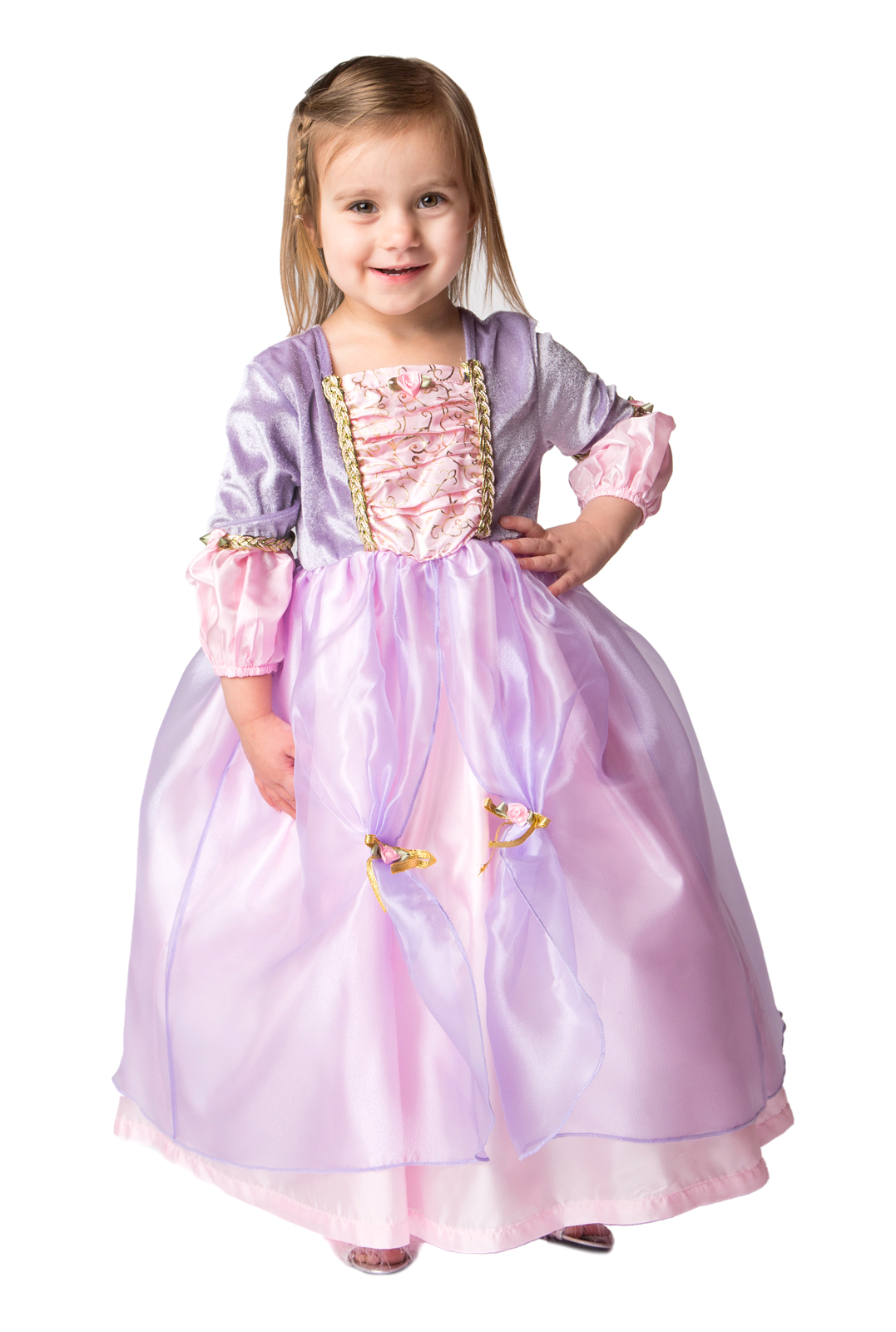 5c5ed35d4b14 DELUXE Toddler Rapunzel Dress Up Costume | Buy Toddler Princess Rapunzel  Dress