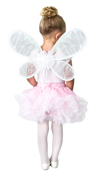 DELUXE White Fairy Wings