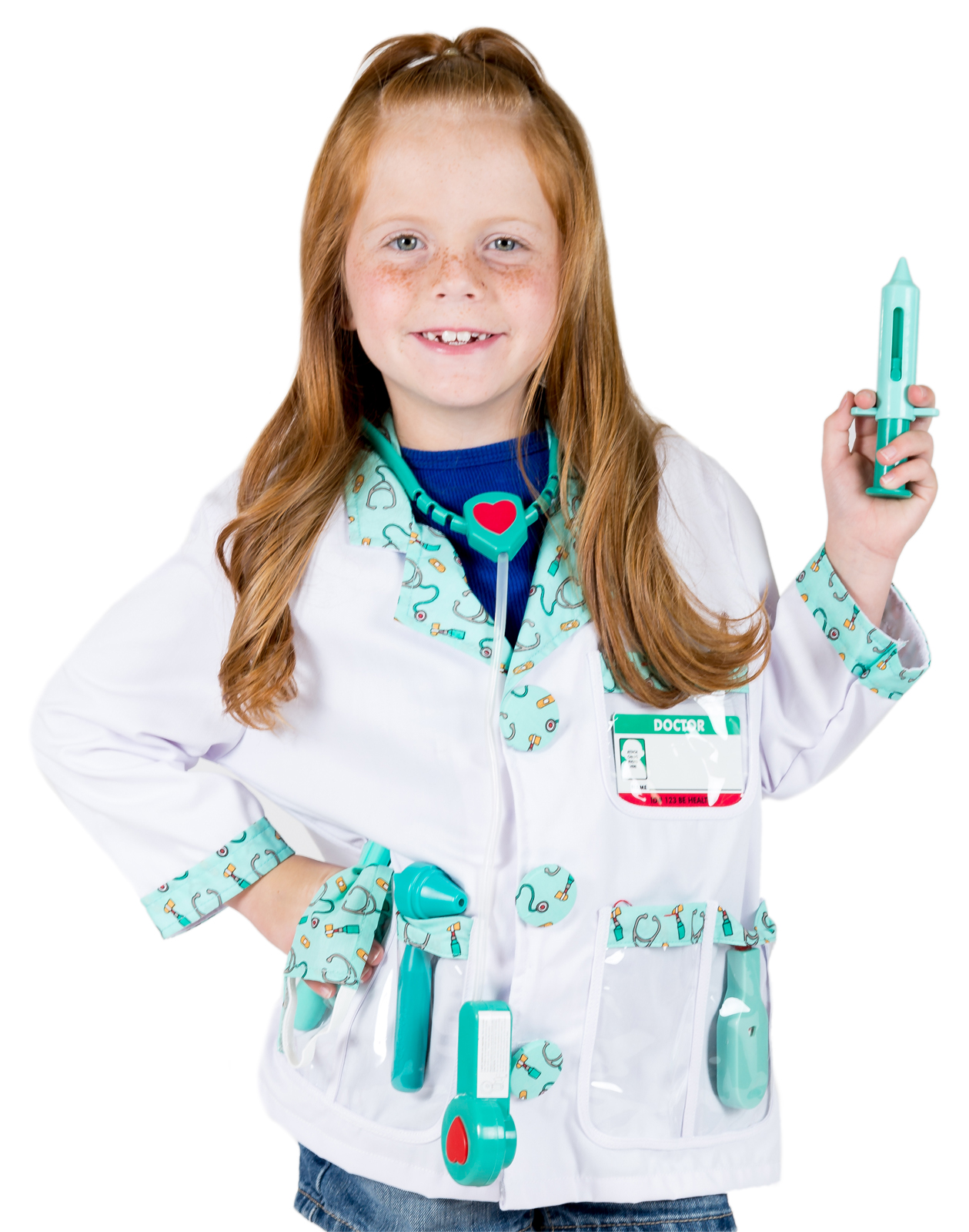 Doctor Costume. Zoom  sc 1 st  Little Dress Up Shop & Boys and Girls Doctor Costume for Pretend Play
