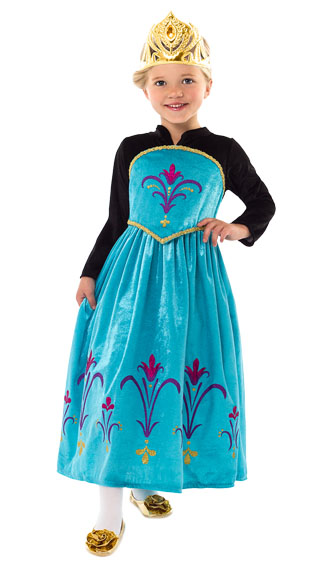 "Ice Queen ""Coronation Day"" Dress"