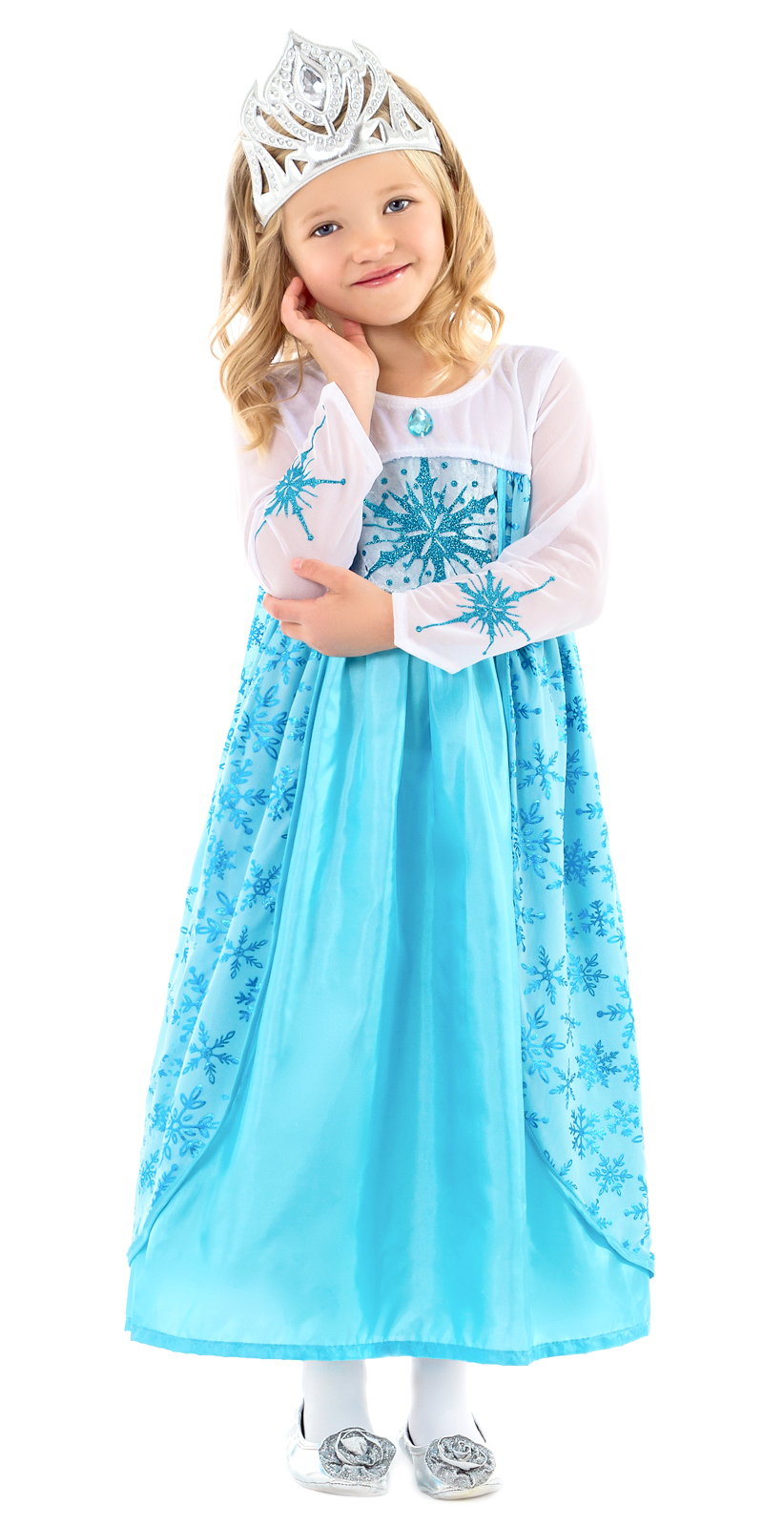 9ba0d4fd5a5e Elsa Princess Dress for Girls