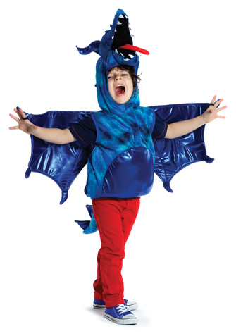 Ferocious Blue Dragon Costume