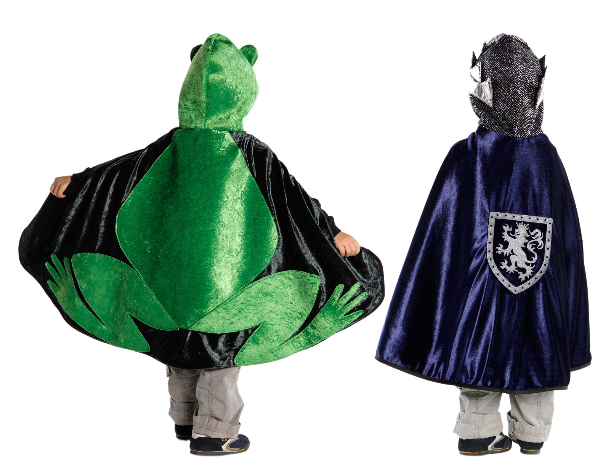 Reversible Frog Prince Cape. Zoom  sc 1 st  Little Dress Up Shop & Reversible Frog Prince Cape