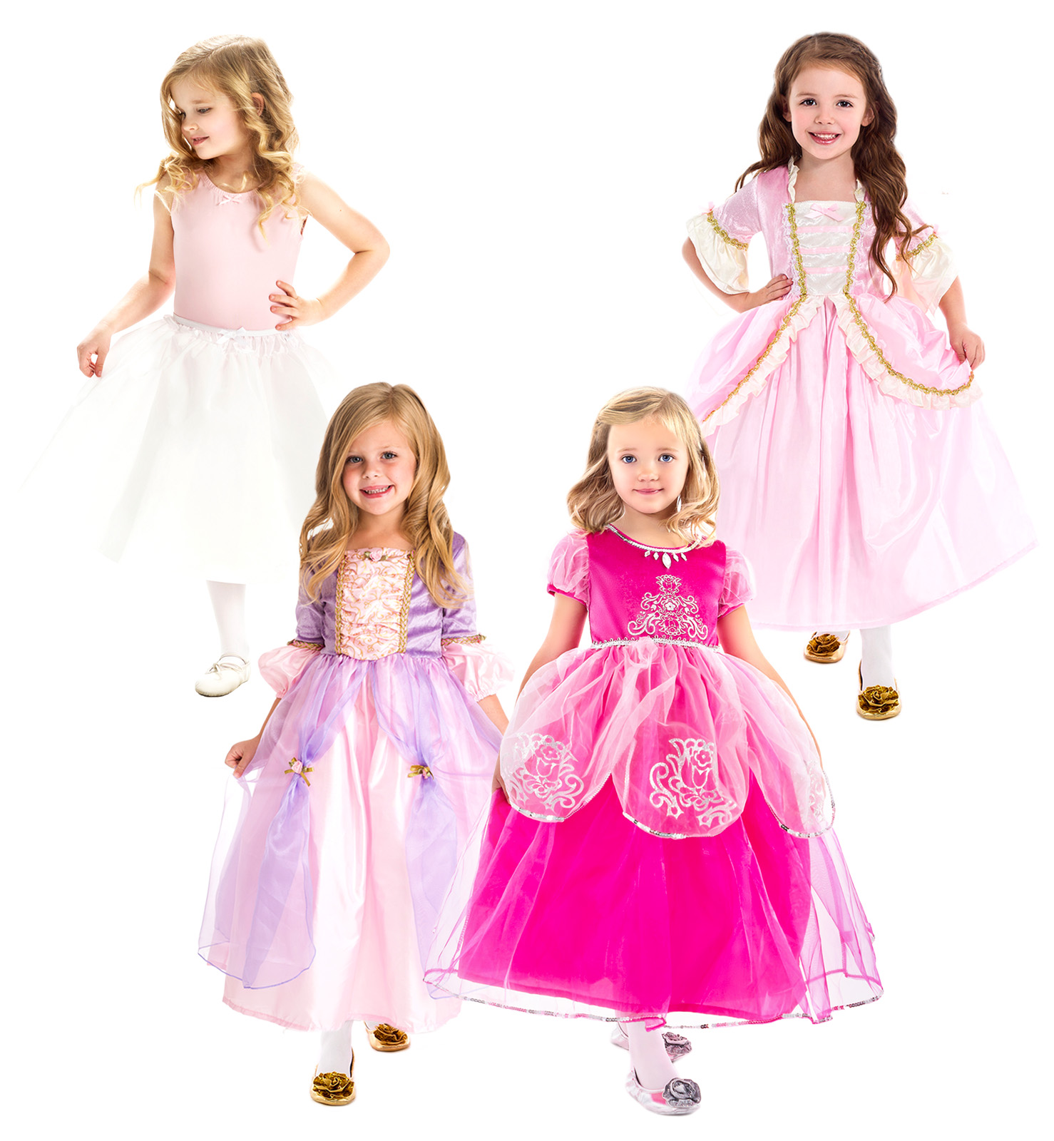 dcc6501172fdc Girly Girl Princess Dress Up and Costume Set | Tangled Inspired Rapunzel