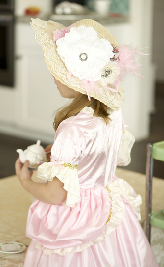 Deluxe Lace Tea Party Hat