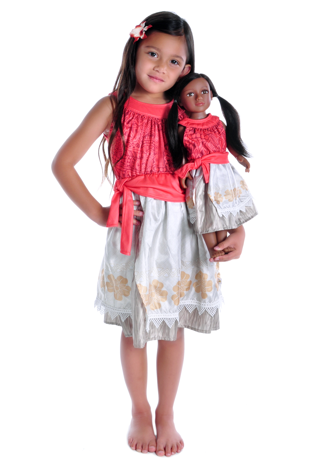 3ca310142487 Matching Moana Princess Dresses