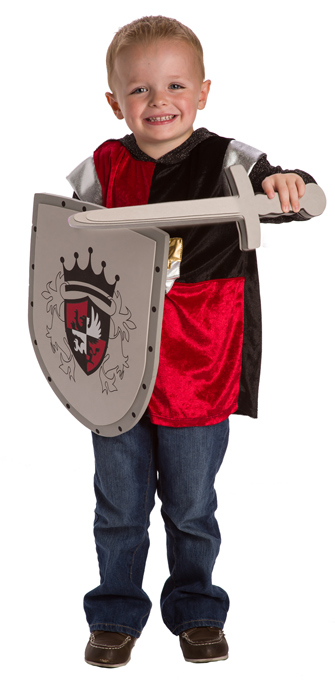 Red Royal Sword and Shield Set