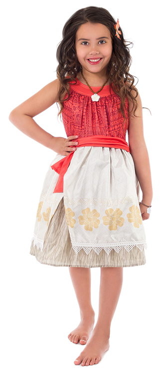 Polynesian Princess Dress